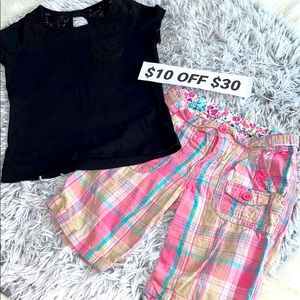♥️girls outfit size small size 6